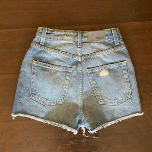 LF Shorts - LF High Waist Denim Shorts